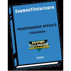 Psihopedagogie specială - titularizare
