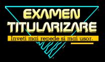 ExamenTitularizare